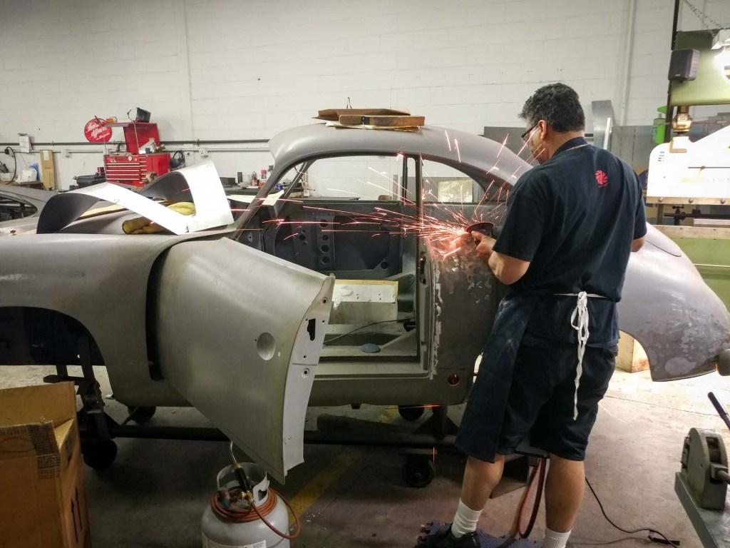 vintage 1953 porsche 356 restoration