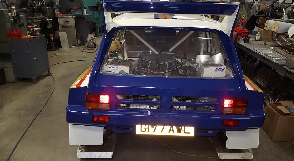 6r4 metro group b rally car
