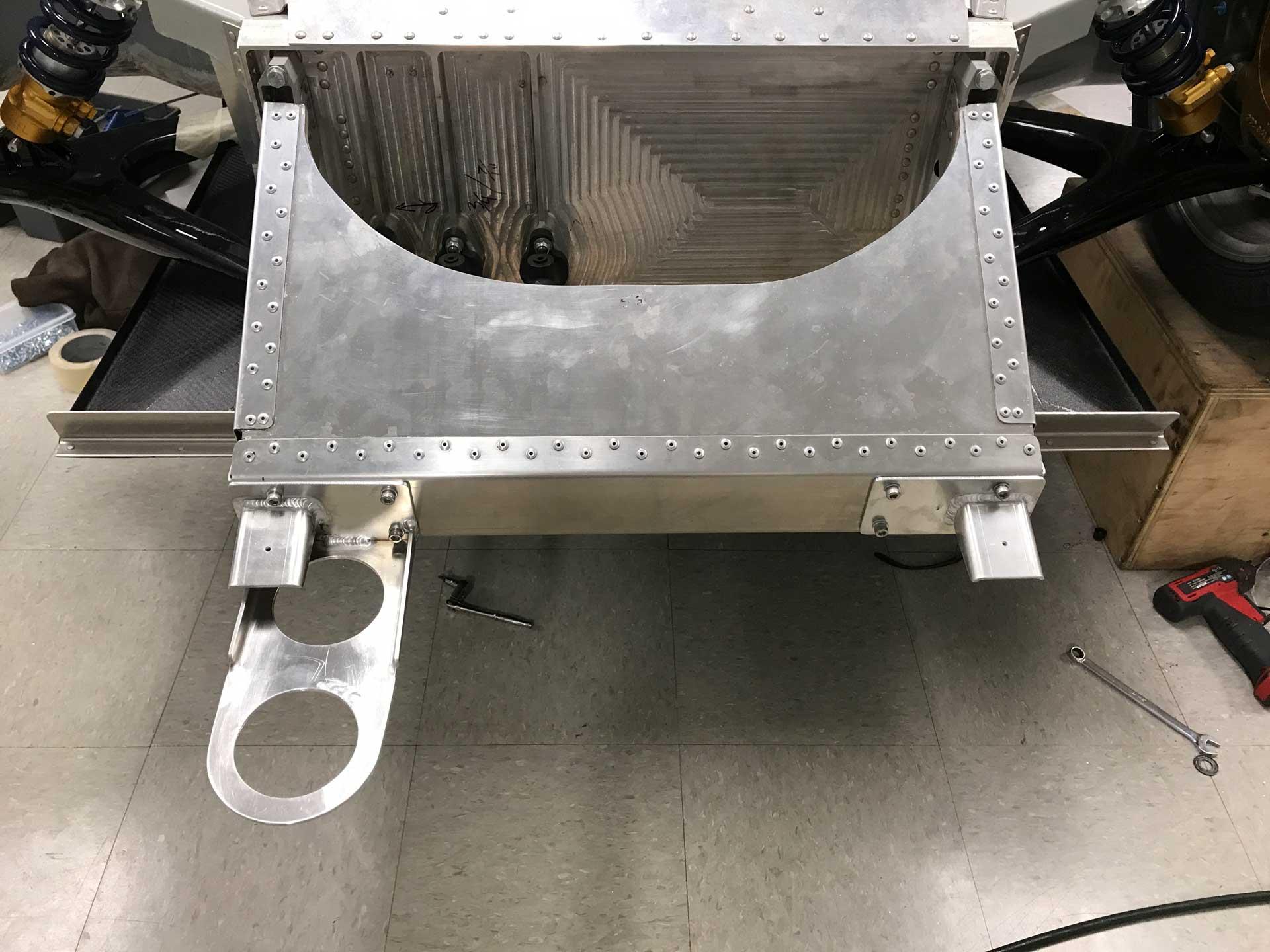 Porsche 962 crash box