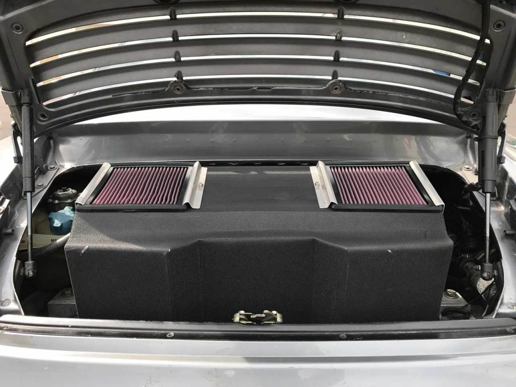 custom porsche 996 turbo airbox