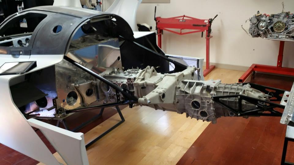 dauer porsche 962 engine and transmition