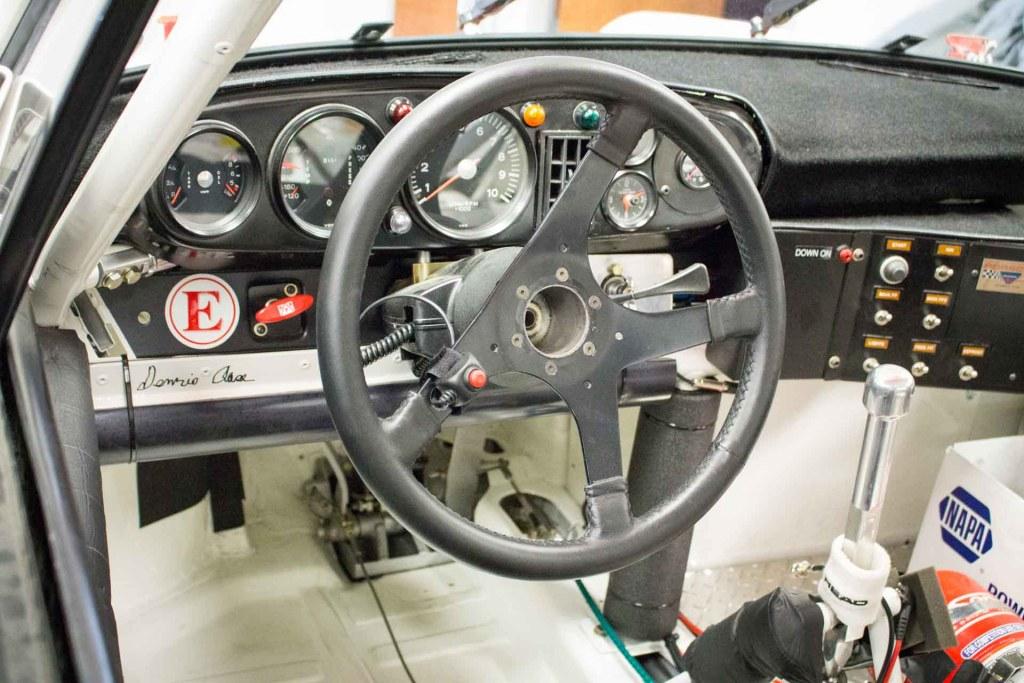 inside asse brothers porsche 911 gtu race car