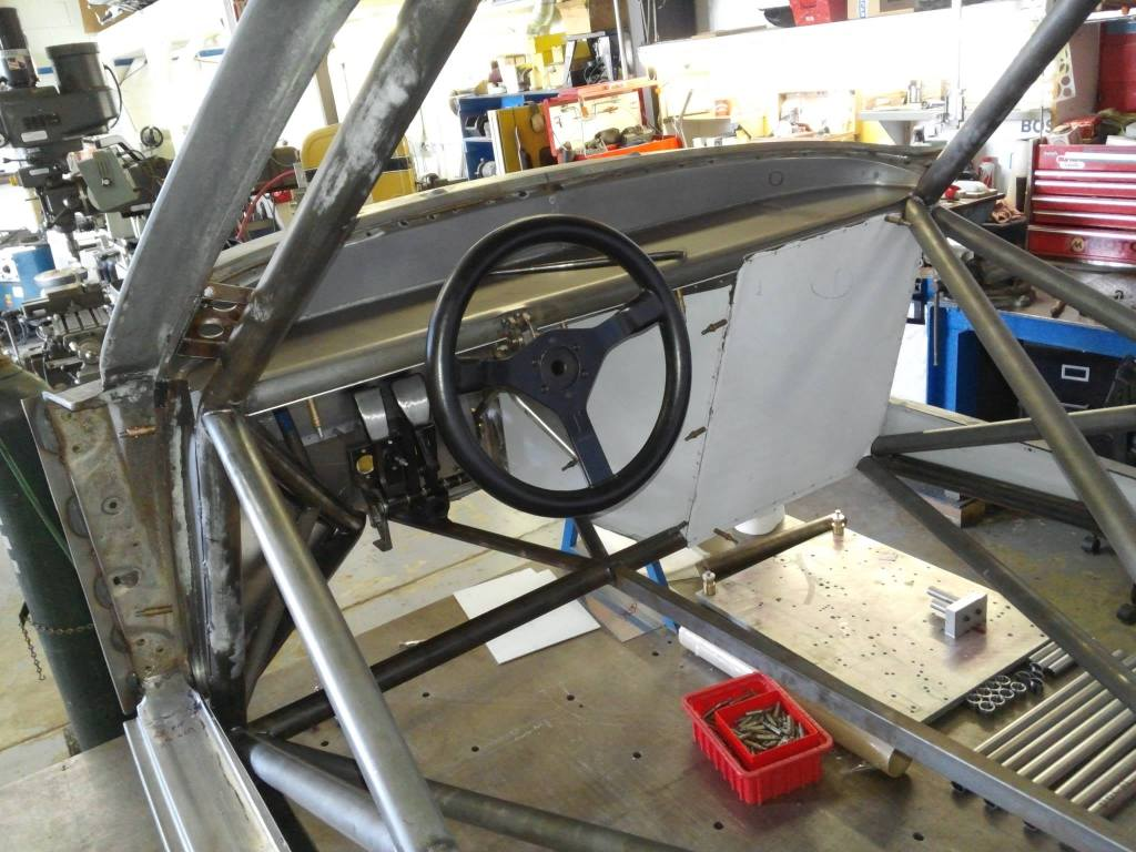 porsche 935 chassis build