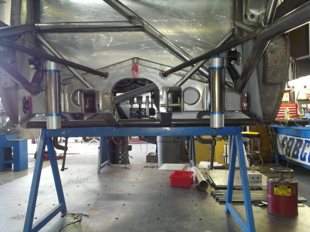 porsche 935 rear suspension and gearbox mount