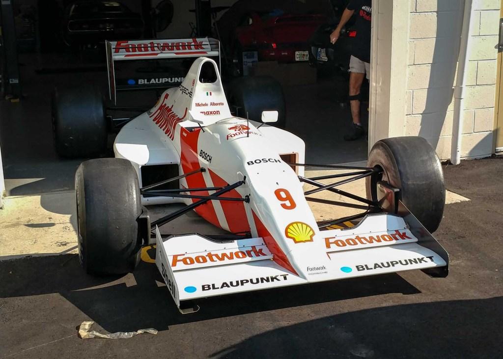 orsche formula 1 car at redstone pe