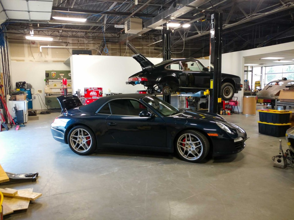 porsche service repair at redstone
