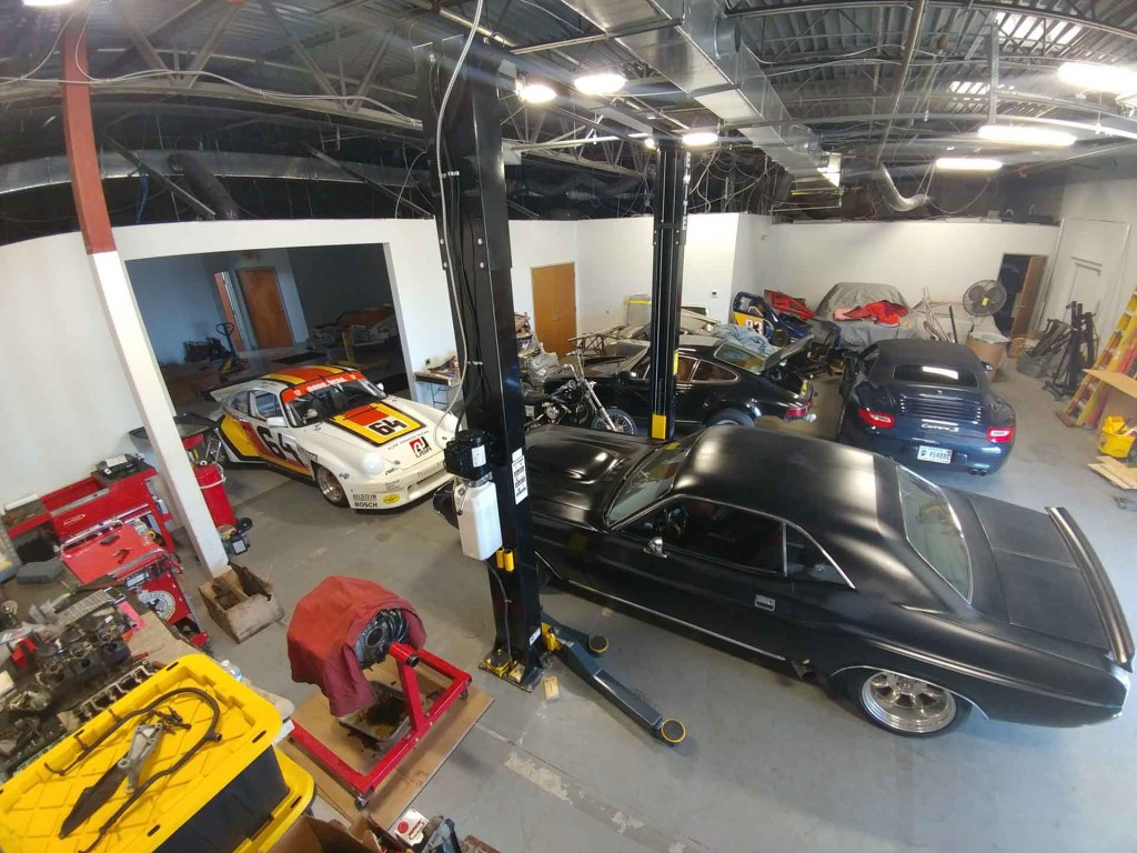 redstone performance shop dodge challenger and porsche