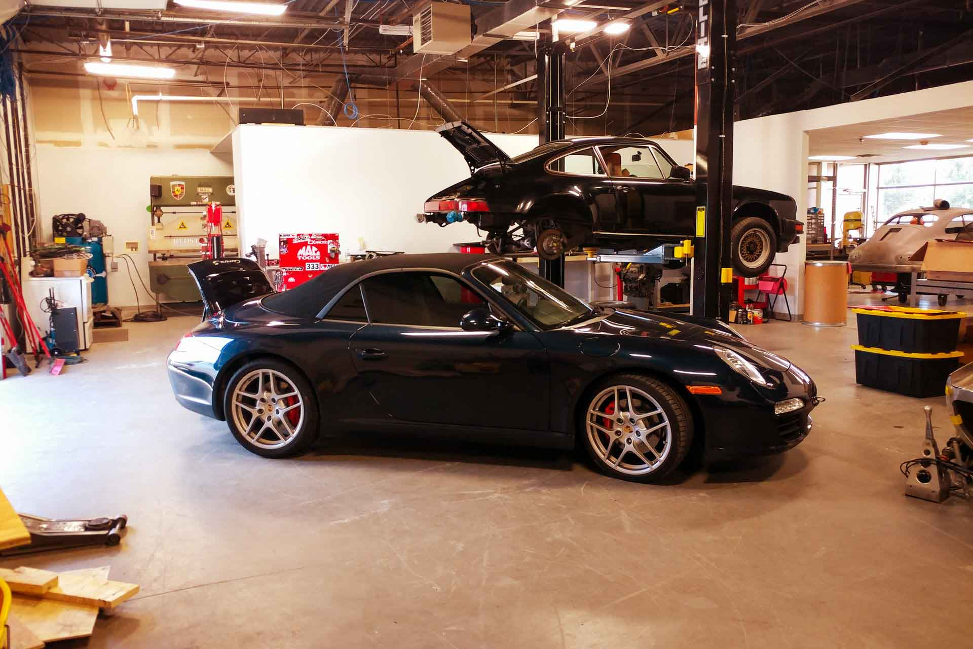 redstone porsche service repair shop