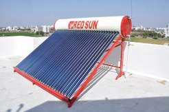 Solar water heater with capacity 500 ltr per day direct tube system - 58 x 2100mm.