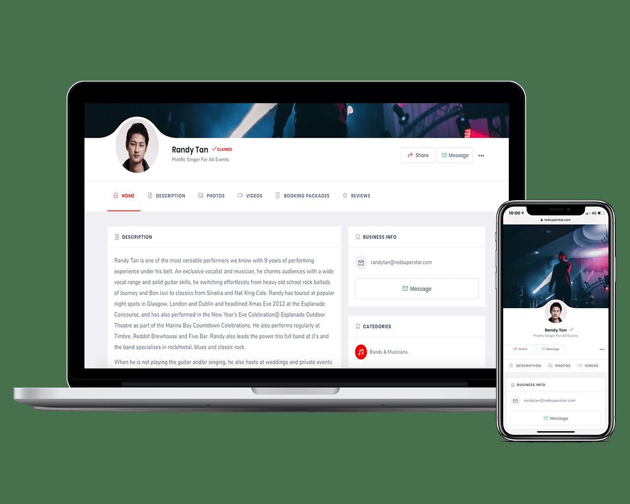 redsuperstar-online-profile