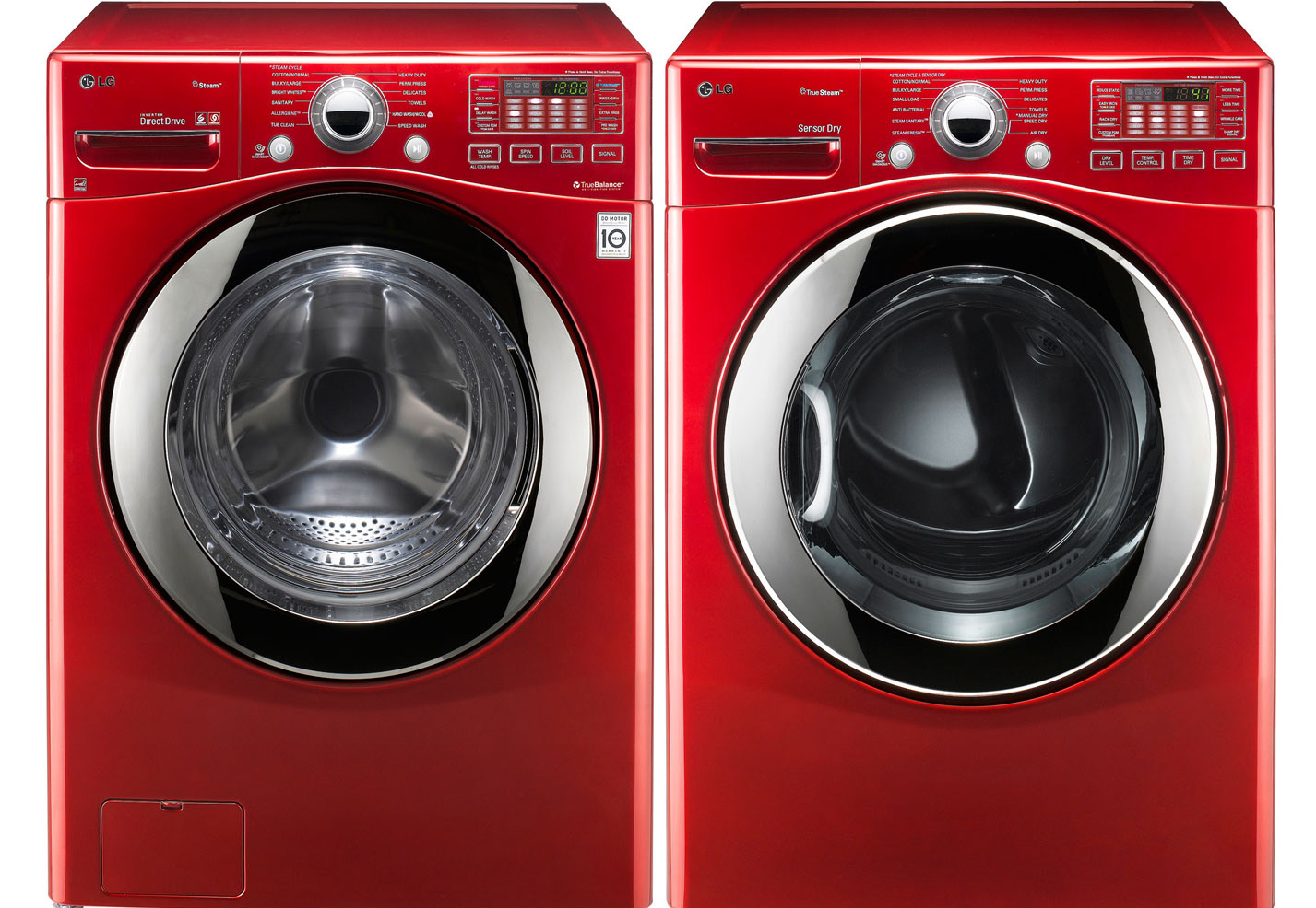 Washer And Dryers Lg Red Washer And Dryer
