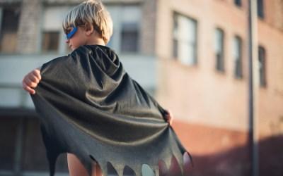 Los superhéroes: Un ideal para los niños