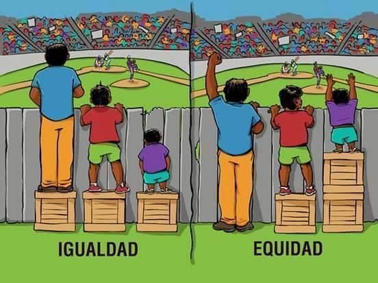 Igualdad y equidad en la educación