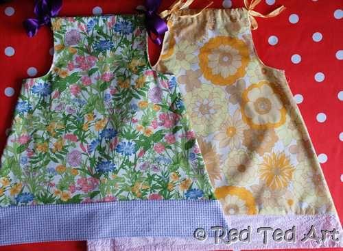 pillow case dress for beginners