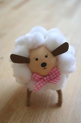 30 Cute Lamb Amp Sheep Crafts Red Ted Arts Blog