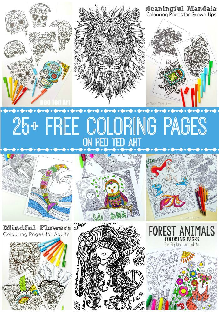 Free Coloring Pages For Adults Check Out This Fantastic