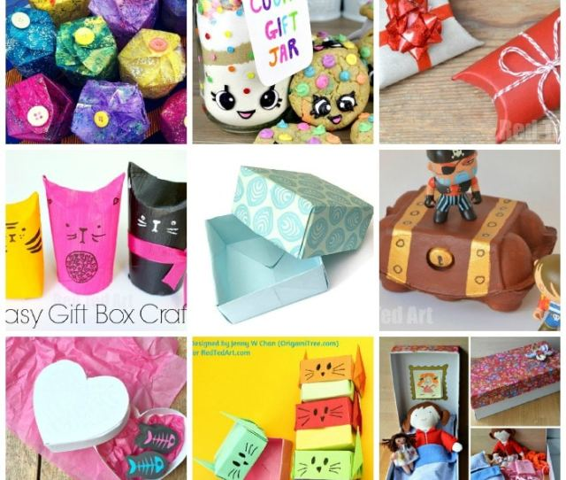 Over  Quirky Gift Box Ideas For Kids To Make And Enjoy Great For Individual