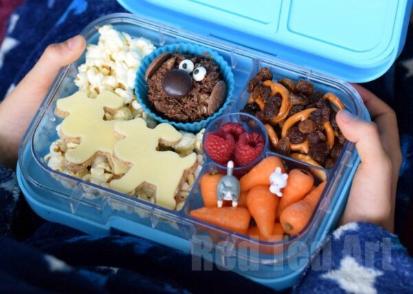 The Secret Life Of Pets Snack Bento For Movie Night Red