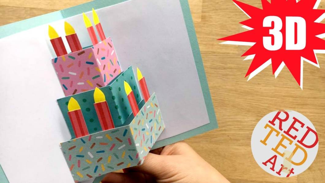 How To Make Easy Pop Up Birthday Cards At Home Cardjdi