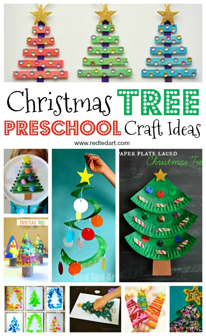 christmas tree crafts tree decorations for preschoolers to make 1314