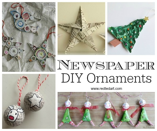 Paper Christmas Ornament Diy Ideas Love Crafts Ornaments Combine The