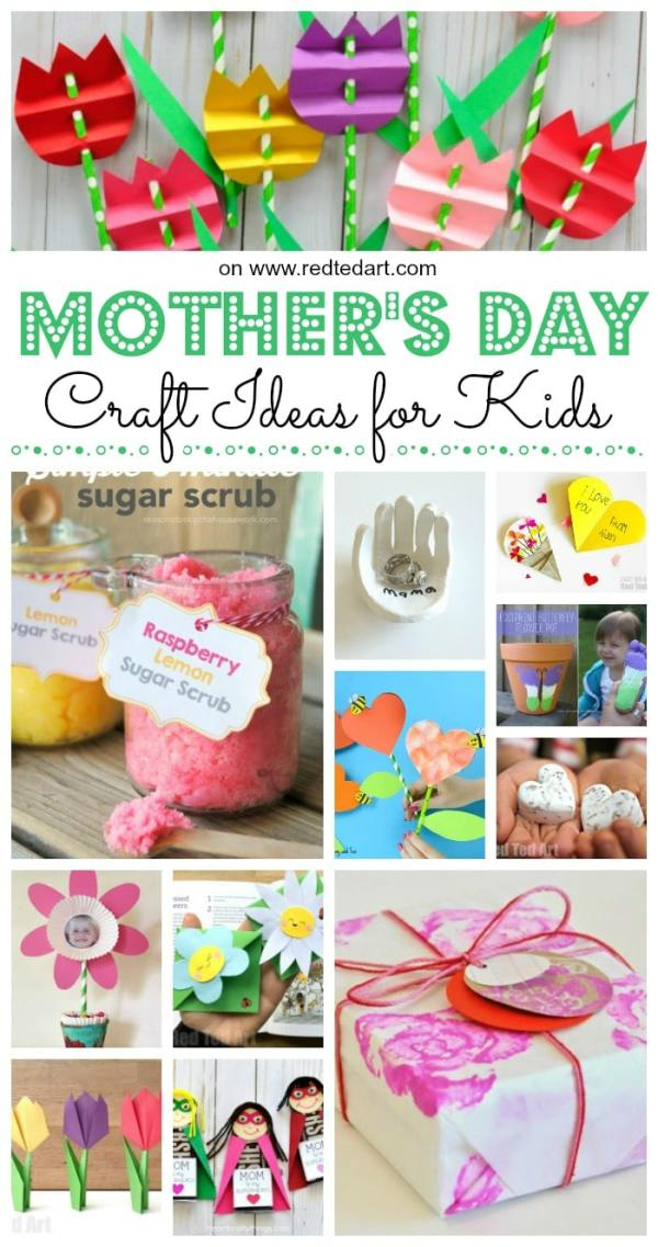 Top Mother's Day Crafts for Kids - Red Ted Art's Blog