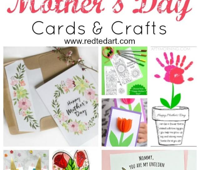 Printable Mothers Day Cards Crafts Make Mothers Day Celebrations Quick And Easy With These