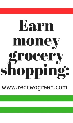 earn money grocery shopping