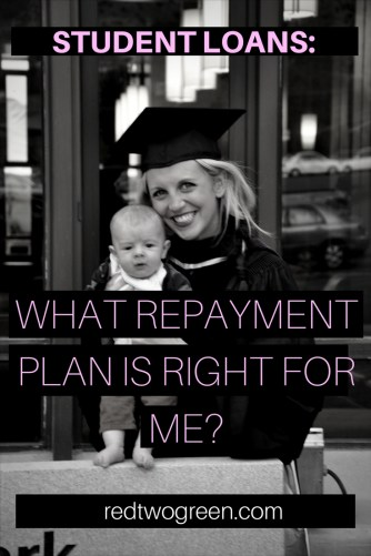 income based repayment; what student loan repayment plan is right for me,