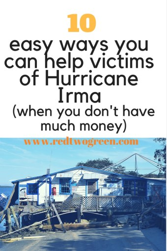 ways you can help victims of hurricane irma