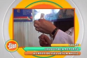El Sedes Sucre reportó cuatro nuevos casos de influenza AH3N2