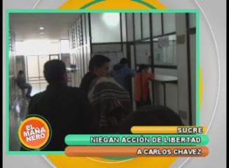 NIEGAN ACCIÓN DE LIBERTAD A CARLOS CHÁVEZ