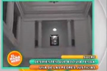 BOLIVIA ESTARÍA ENTRE LOS 10 PAÍSES CON PEOR JUSTICIA