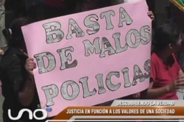 LA SOCIEDAD  NO CONFÍA EN LA JUSTICIA BOLIVIANA