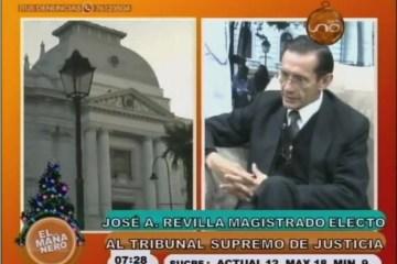 MAGISTRADO ELECTO AL TRIBUNAL SUPREMO DE JUSTICIA