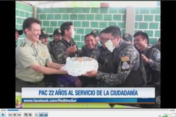 PAC CUMPLE UN AÑO MÁS DE VIDA INSTITUCIONAL