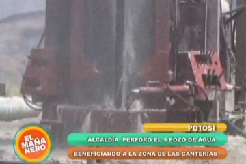PERFORACIÓN DE POZOS DE AGUA PARA SATISFACER LA NECESIDAD DEL LÍQUIDO ELEMENTO