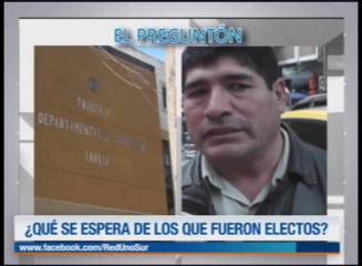 EL PREGUNTÓN: ELECCIONES JUDICIALES 2017