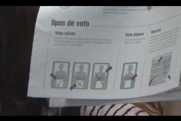 TIPOS DE VOTO EN LA PAPELETA ELECTORAL