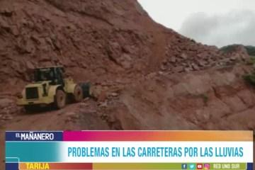 CARRETERAS AFECTADAS POR LLUVIAS