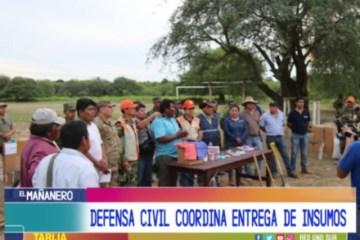 MUNICIPIOS DAMNIFICADOS CUENTAN CON APOYO