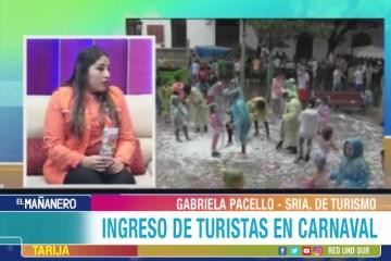 INGRESO DE TURISTAS PARA PRESENCIAR EL CARNAVAL DE TARIJA