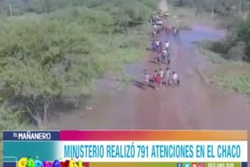 EL MINISTERIO DE SALUD REALIZÓ 791 ATENCIONES EN EL CHACO TARIJEÑO