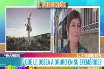 EL PREGUNTÓN: EFEMÉRIDE DE ORURO