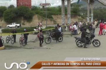 REALIDAD URBANA: CALLES Y AVENIDAS EN TIEMPOS DEL PARO CÍVICO