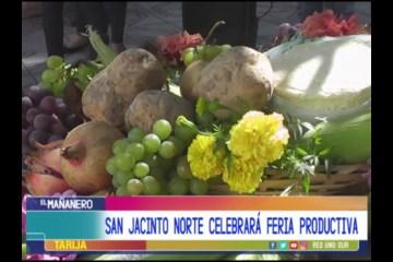 SAN JACINTO NORTE CELEBRARÁ FERIA PRODUCTIVA