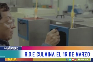 TEMA DEL DÍA: ROE CULMINA EL 16 DE MARZO
