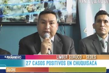 SUMAN A 27 LOS CASOS DE TUBERCULOSIS EN CHUQUISACA