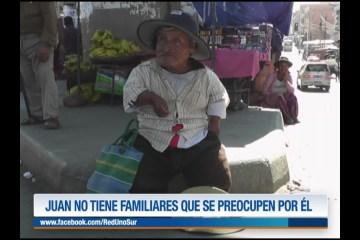 JUAN NO TIENE FAMILIARES QUE SE PREOCUPEN POR ÉL