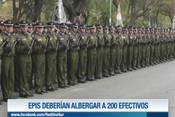 EL EPI DEBERÍA ALBERGAR A MÁS DE 200 EFECTIVOS